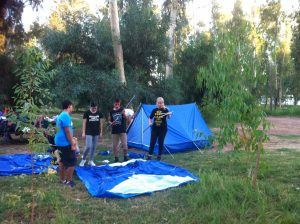 Camping Polis 1 - Duke of Edinburgh